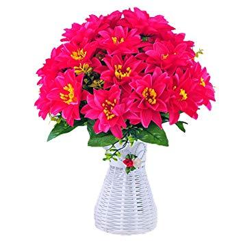 fleur en plastique