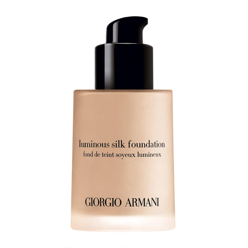 fond de teint armani luminous silk