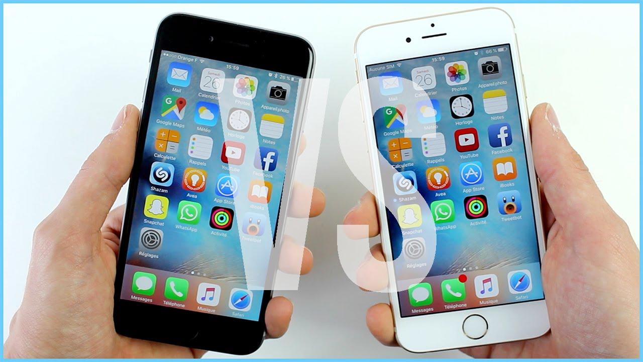 iphone 6 et 6s