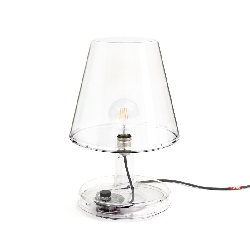 lampe transparente