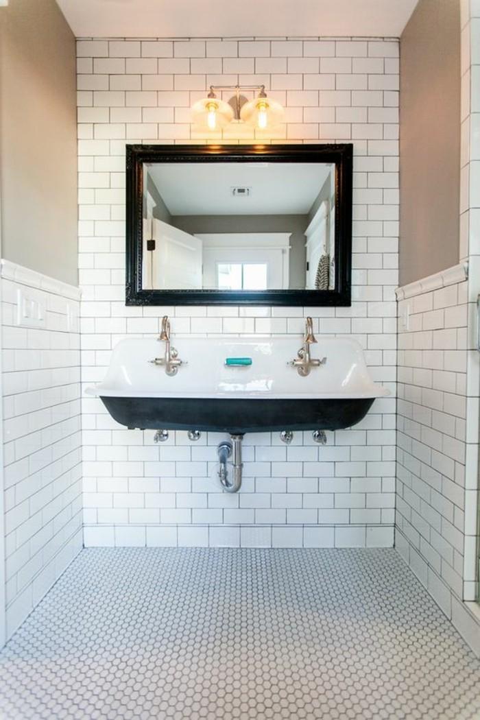 lavabo retro salle de bain