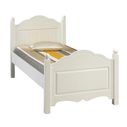 lit blanc 1 place
