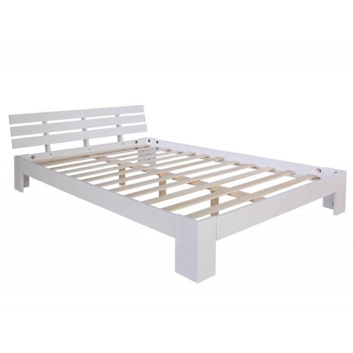 lit double avec sommier