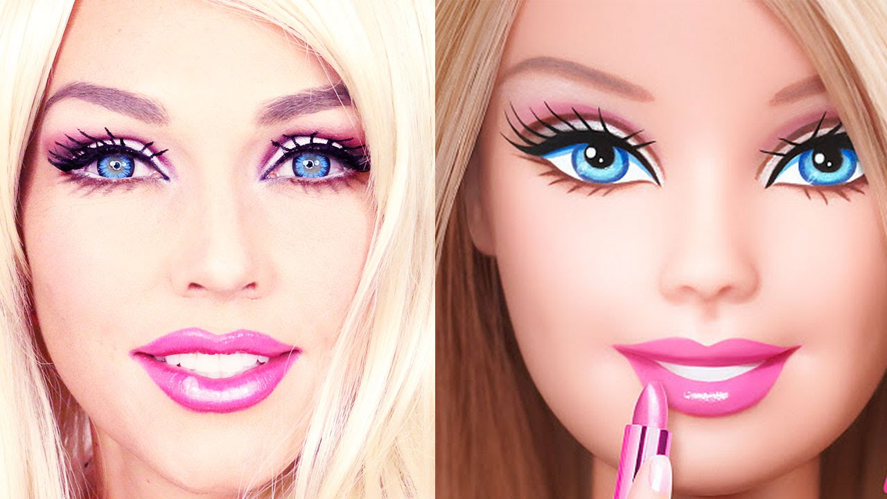 maquillage barbie