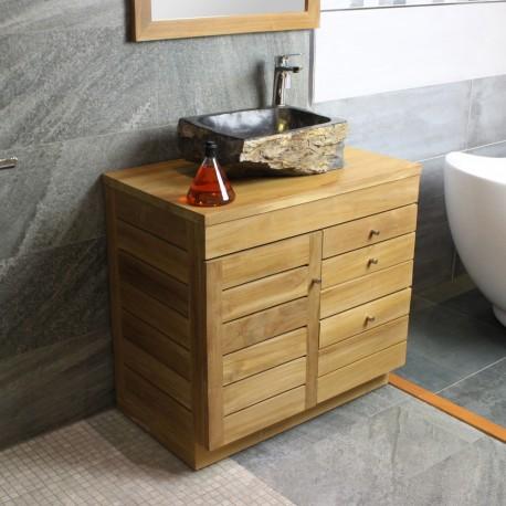 meuble sous vasque 80 cm