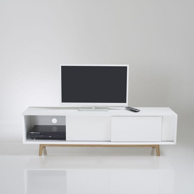 meuble tv porte coulissante