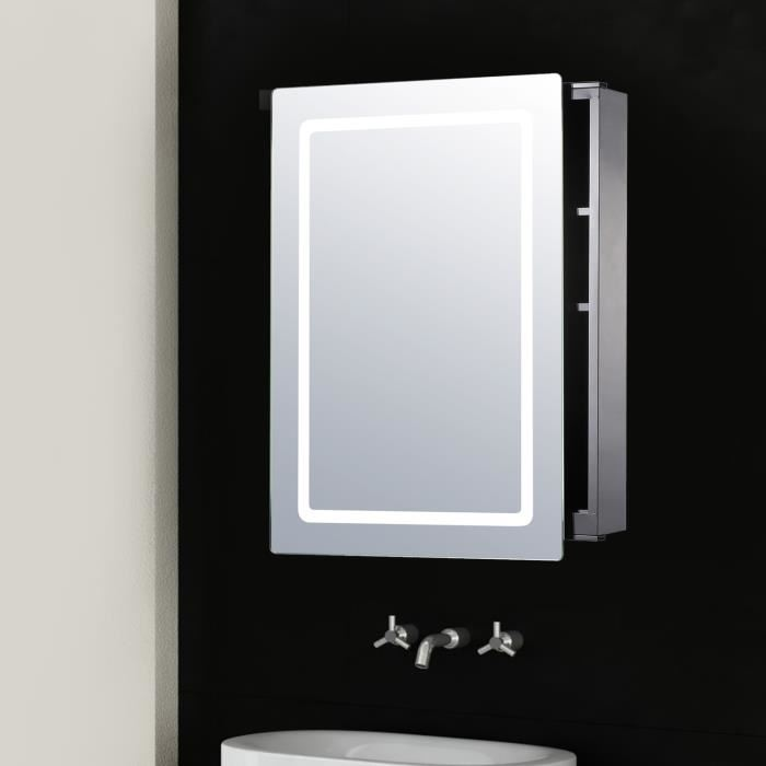 miroir armoire salle de bain