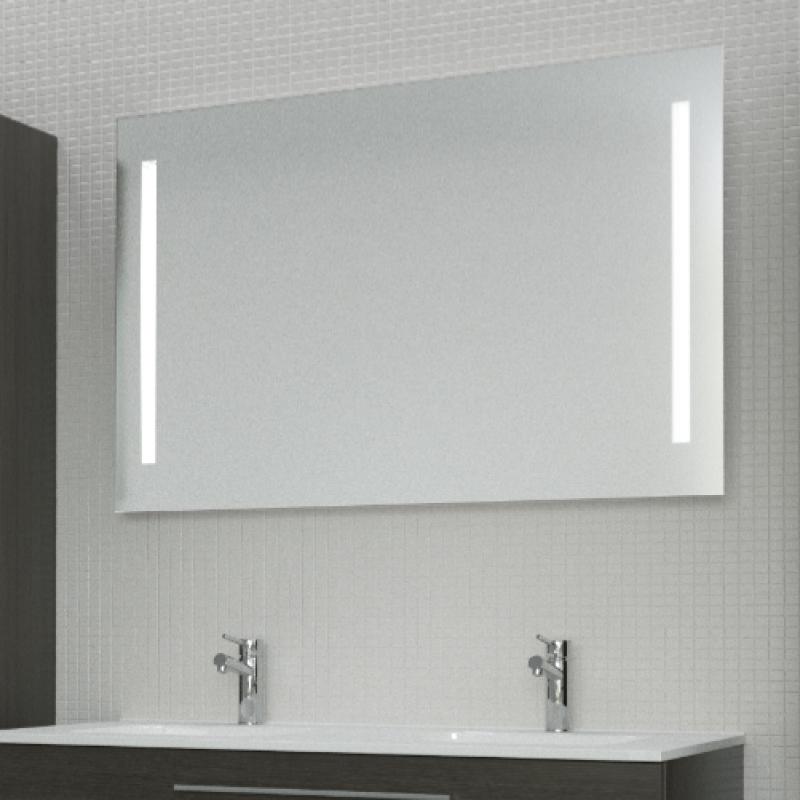 miroir avec éclairage