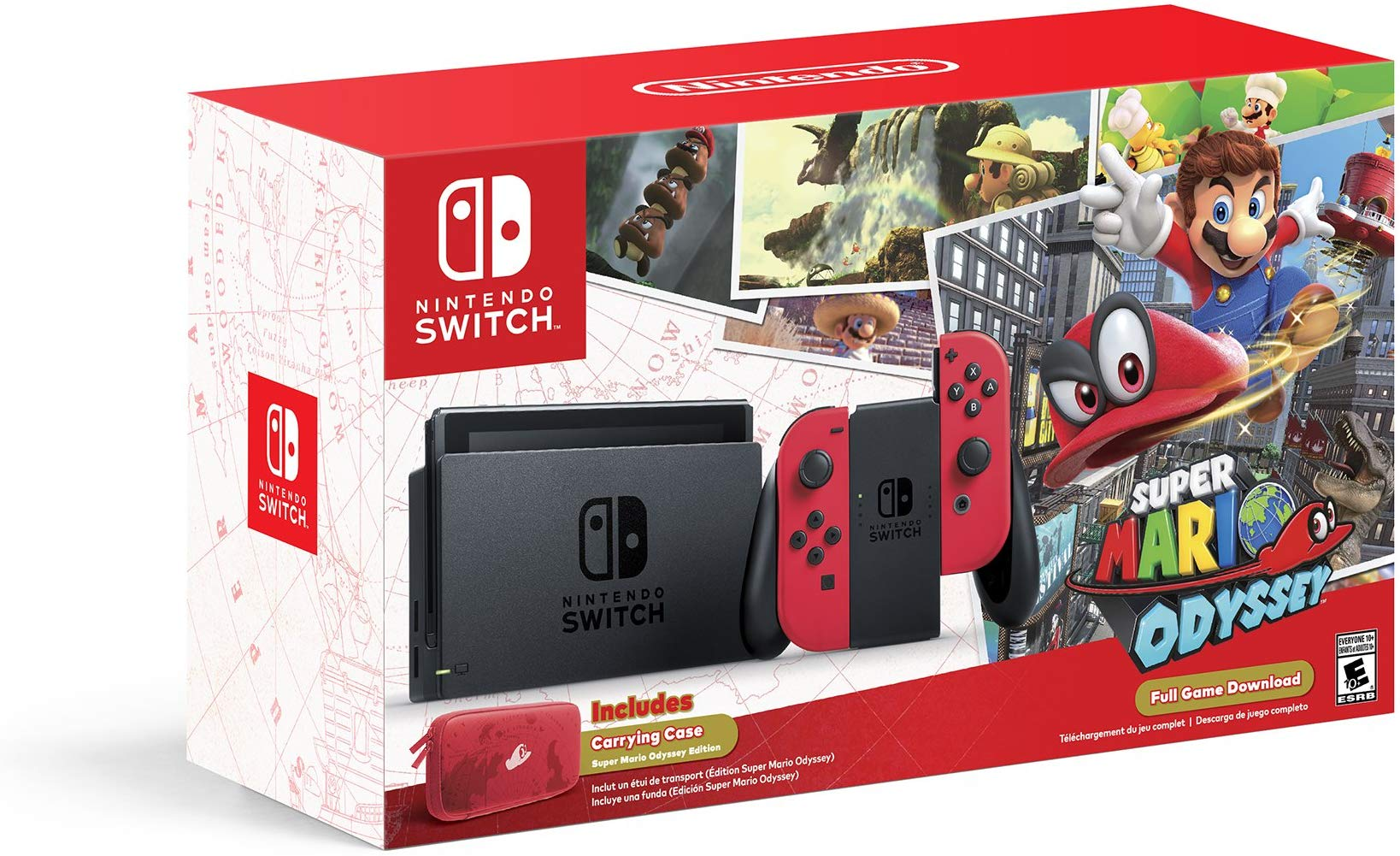 pack nintendo switch mario odyssey