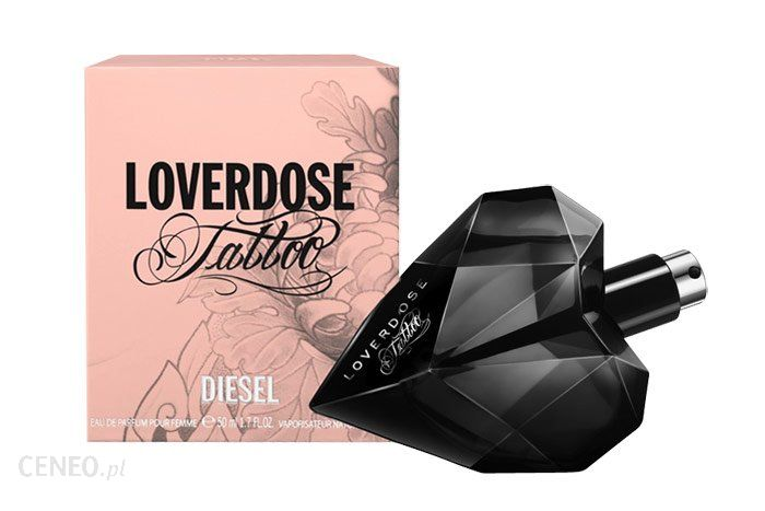 parfum diesel loverdose tattoo