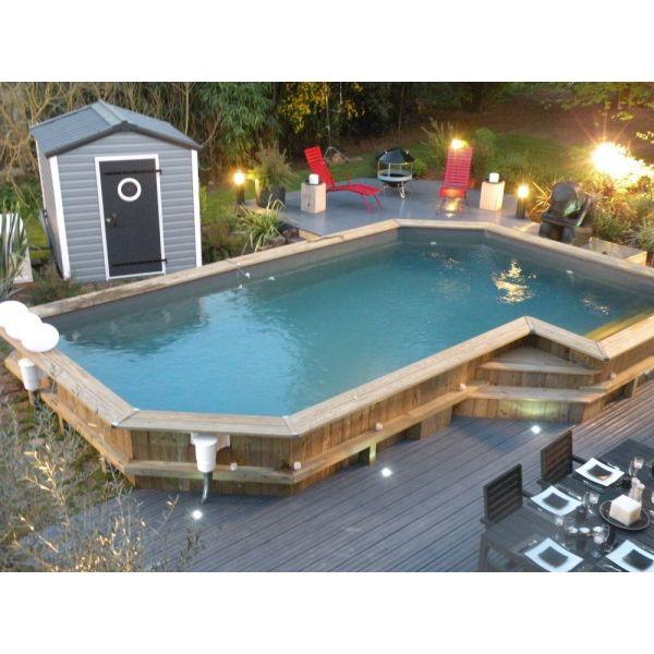 piscine bois promo