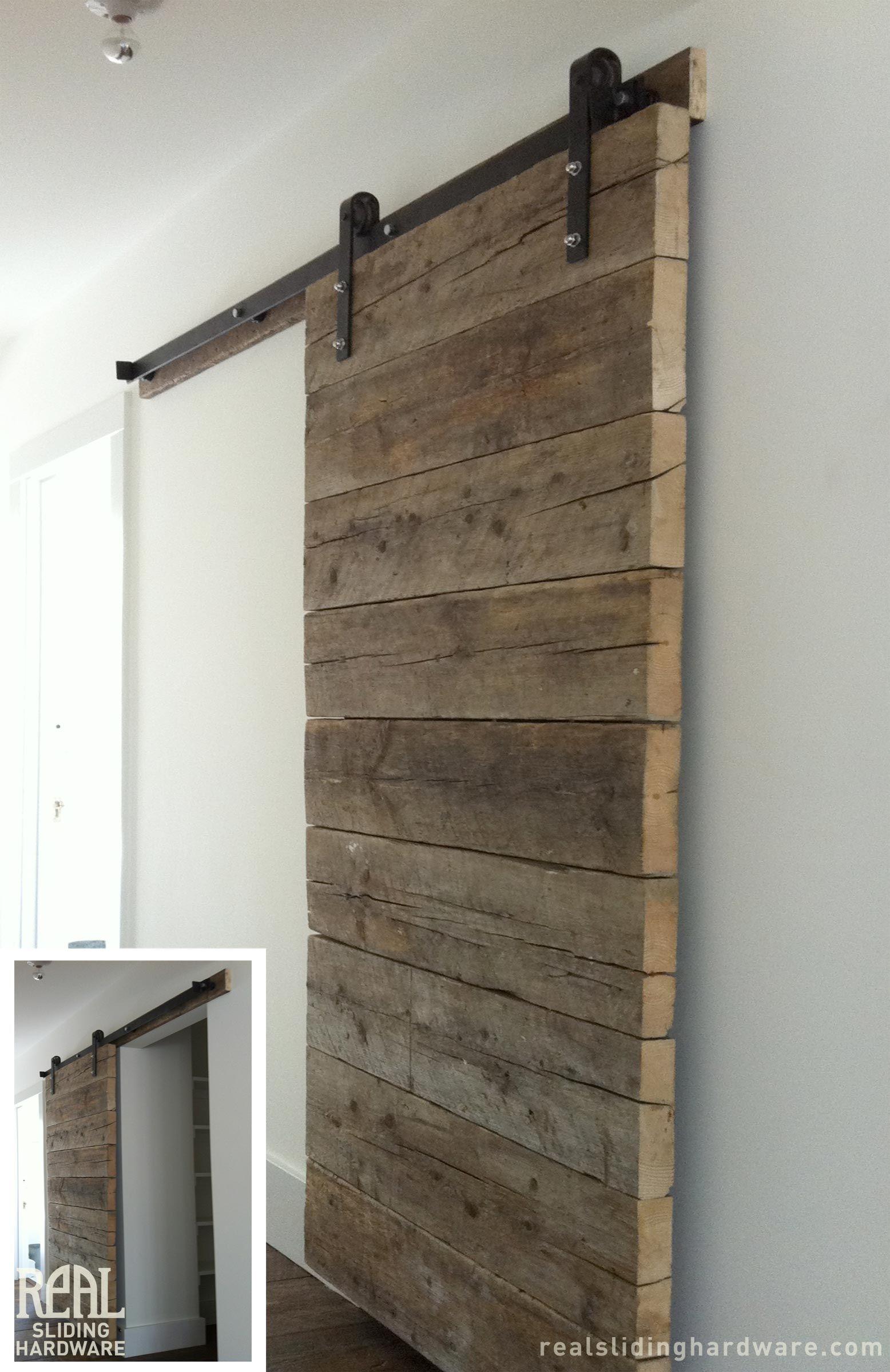 porte coulissante bois