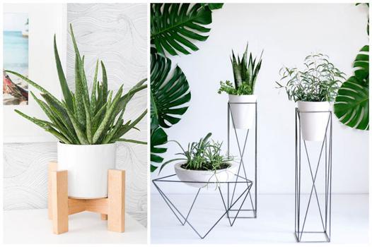 porte plantes d intérieur