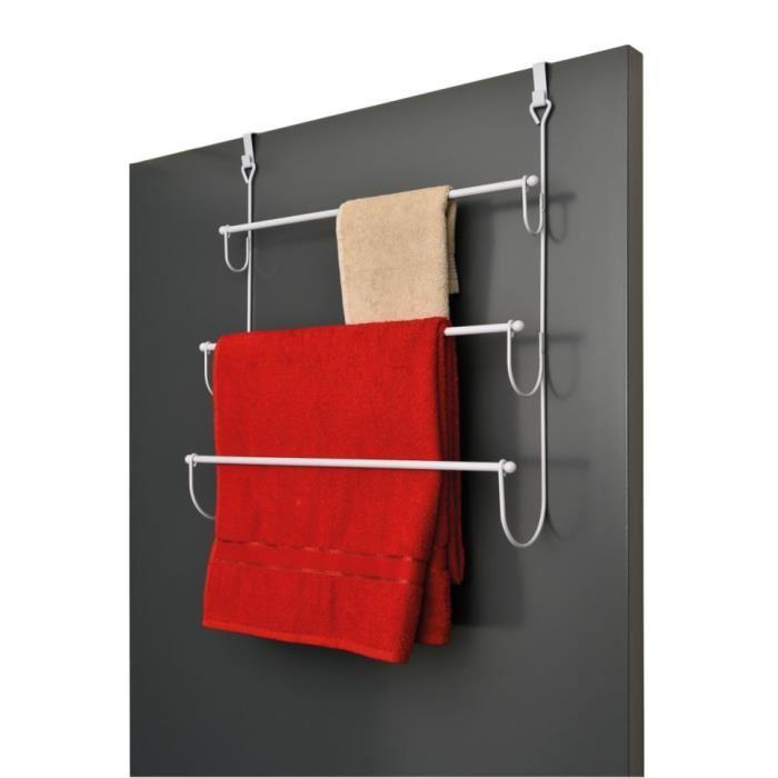porte serviette sur porte