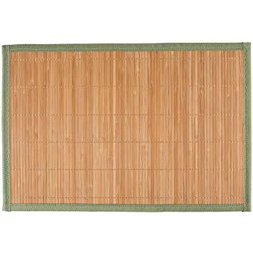 set de table en bambou