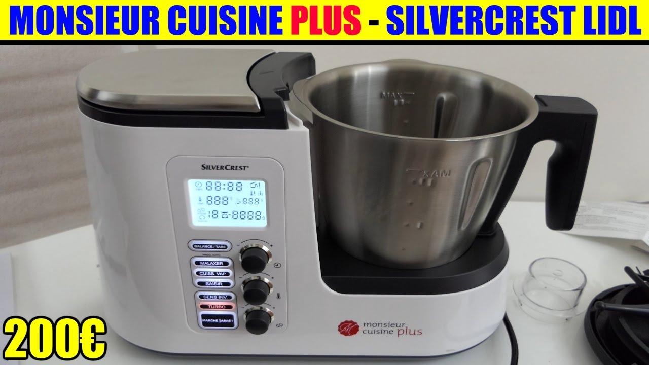 silvercrest monsieur cuisine plus