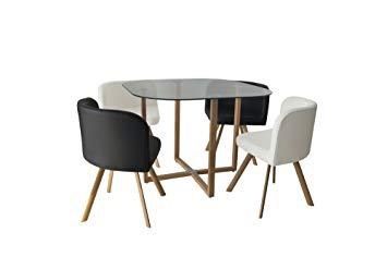 table avec chaise encastrable