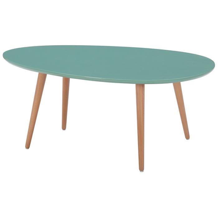 table basse verte