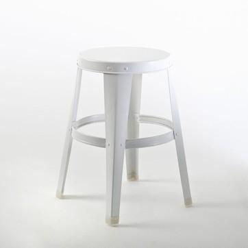 tabouret blanc