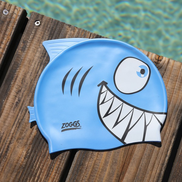 bonnet de bain requin