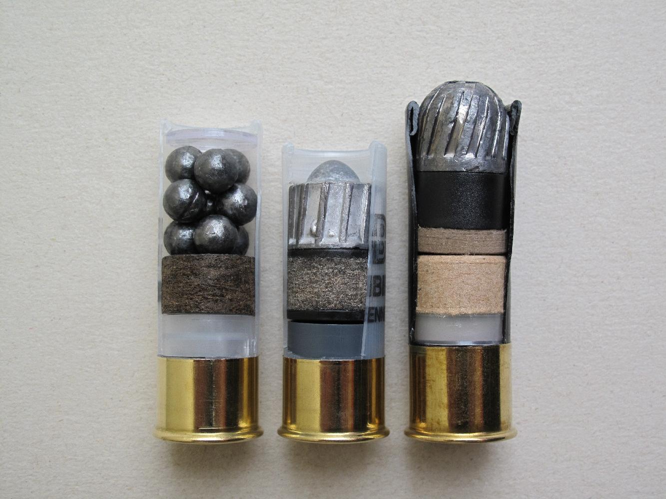cartouche pour fusil de chasse calibre 12