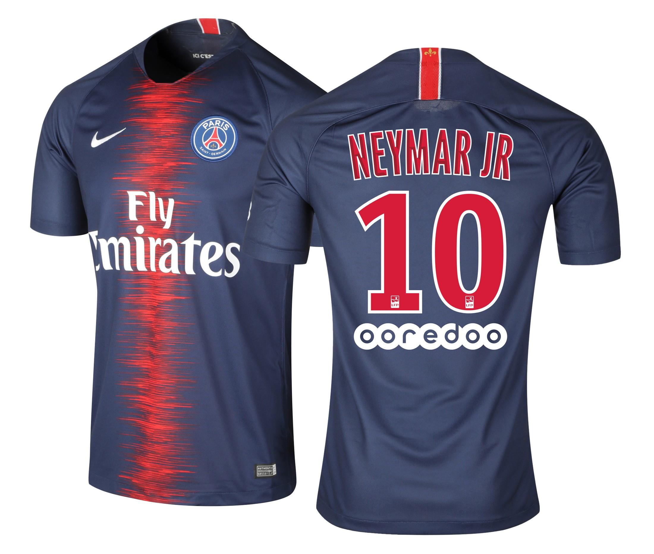maillot paris neymar